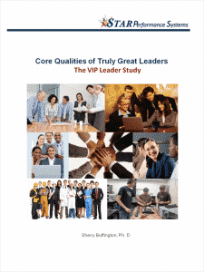 SpectraComm Leadership Training VIP Leader Study: Core Attributes of Truly Great Leaders
